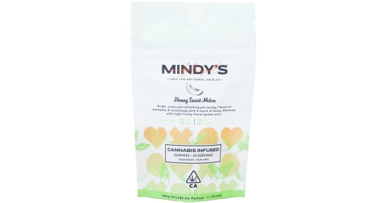 Mindy's - Honey Sweet Melon 1:1 Gummies - 40mg