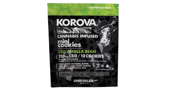Korova - CBD Vanilla Bean Mini Cookies - 150mg