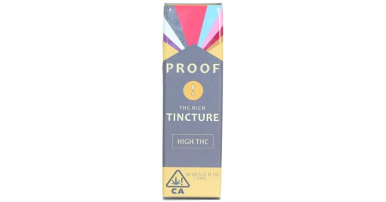 Proof - THC Rich Tincture - 15ml