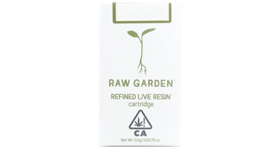 Raw Garden - Lemon Glueberry Cartridge - 0.5g