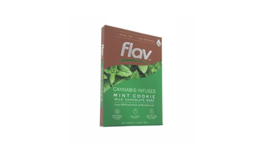 Flav - Mint Cookie - Milk Chocolate - 100 mg