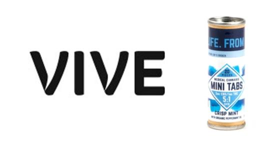 Vive - Mini Tabs - Crisp Mint - 5:1 CBD:THC