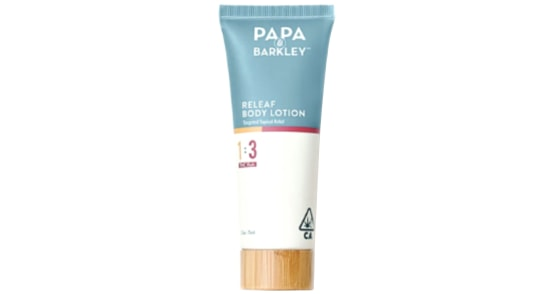 Papa & Barkley - Releaf Body Lotion 1:3 THC - 75ml