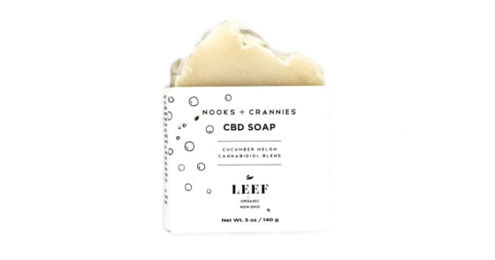Leef Organics - Cucumber Melon - Nooks and Crannies Soap