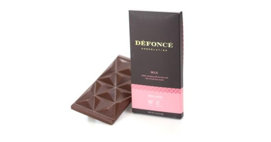 Defonce Chocolatier - Milk Chocolate Bar - 90 mg