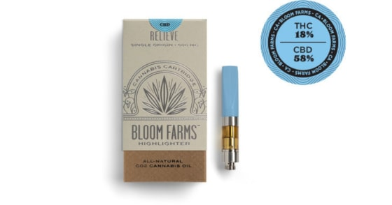 Bloom Farms - Harle-Tsu 3:1 CBD - Relieve