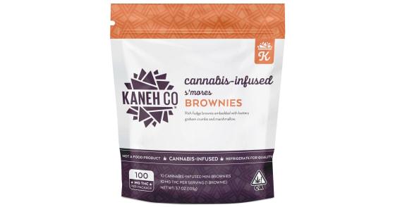 Kaneh Co - S'mores Brownies - 100mg