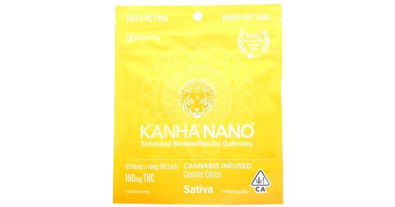 Kanha - Cosmic Citrus Enhanced Nanomolecular Gummies - 100mg