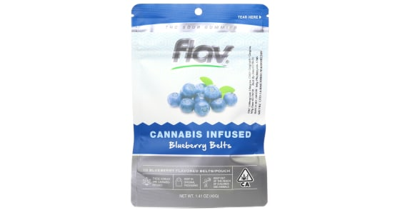 Flav - Blueberry Belts - 100mg