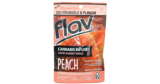 Flav - Peach Rings - 100mg