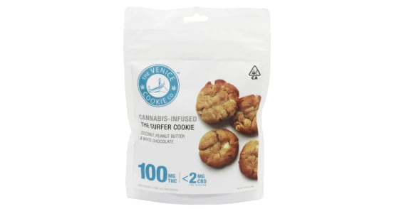 The Venice Cookie Co. - Surfer Cookie - 100mg