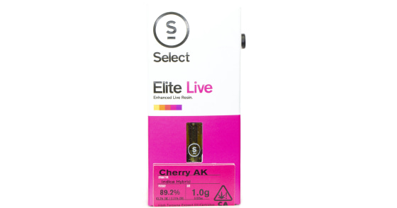 Select Oil - Cherry AK Live Resin Cartridge - (1g) - (Duplicate SKU)