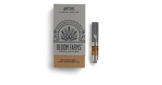 Bloom Farms -  Anytime Hybrid Cartridge - 0.5g