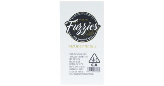 Fuzzies - Super Silver Haze Mini Pre-Rolls - 2.4g