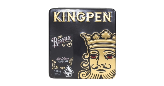 Kingpen Royale - Biscotti Live Resin Vape Cartridge - 0.5g