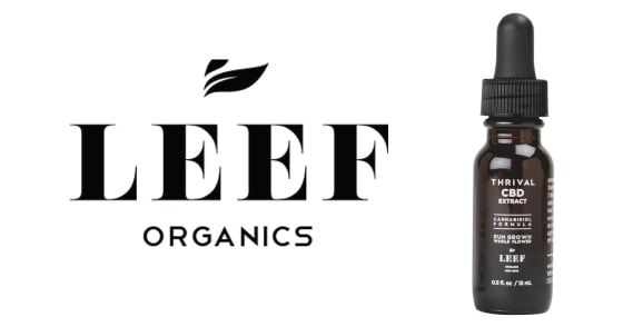 Leef Organics - Thrival CBD Extract