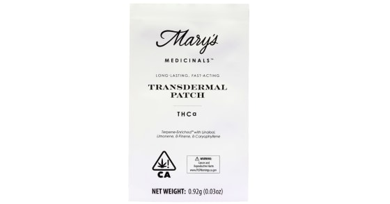 Mary's Medicinals - Patch - THCa