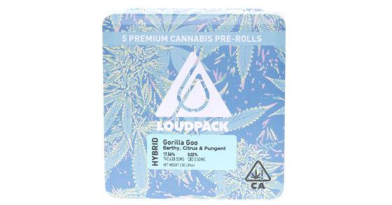 Loudpack - Gorilla Goo - 5 Pack Pre-Rolls