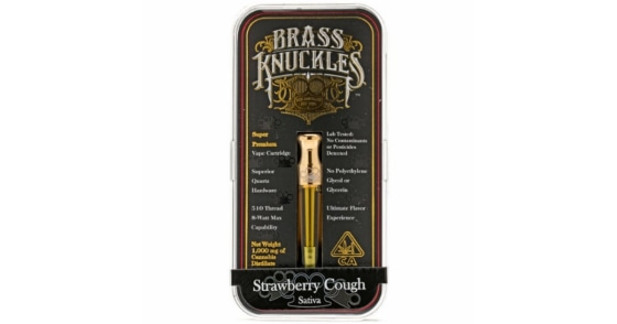Brass Knuckles - Strawberry Cough - 1g