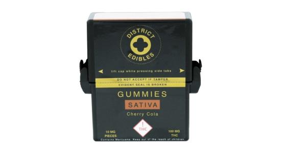 District Edibles - Cherry Cola Gummies - 100mg