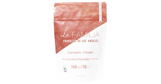 La Familia Chocolates - Mexican Style Hot Chocolate Cookie Bag - 100mg