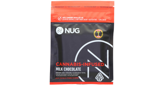 NUG - Milk Chocolate - 100mg