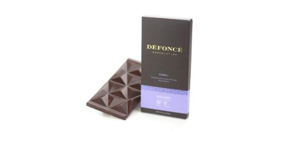 Defonce Chocolatier - Dark Chocolate Bar - 90 mg