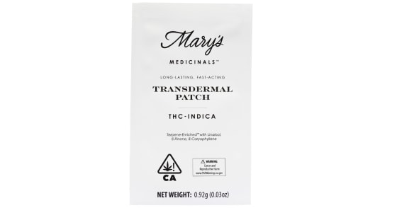 Mary's Medicinals - Patch - Indica