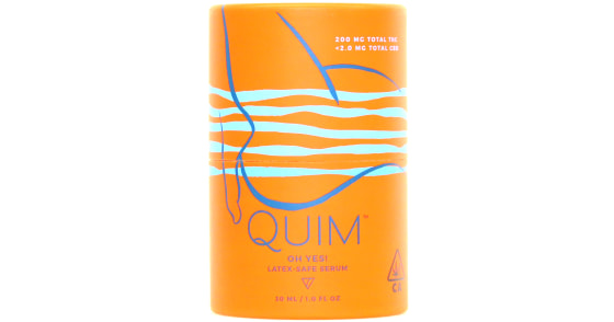 Quim Rock - Oh Yes! Latex Safe Serum - 30ml