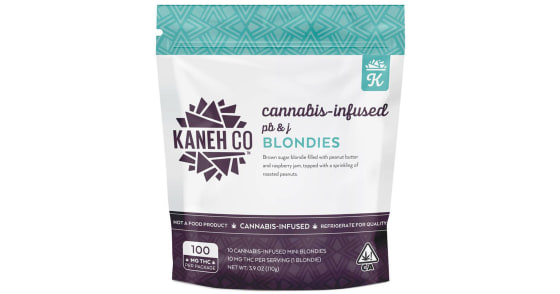 Kaneh Co - PB & J Blondies - 100mg