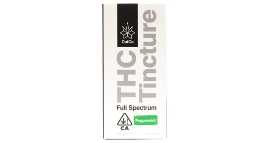 Outco - THC Peppermint Flavored Tincture - 17ml