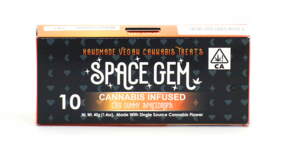 Space Gem - CBD 1:1 Gummy Spacedrops - 10 Gummies