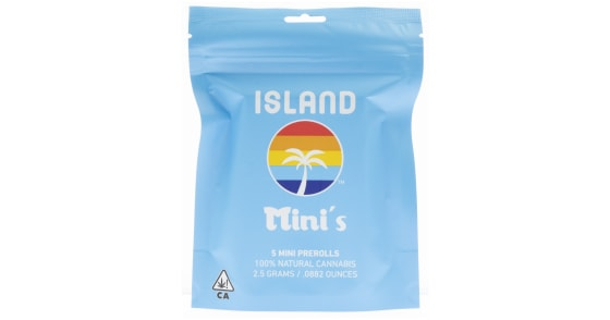 Island Mini's - Happy Cookies Pre-Roll Pack - 5ct