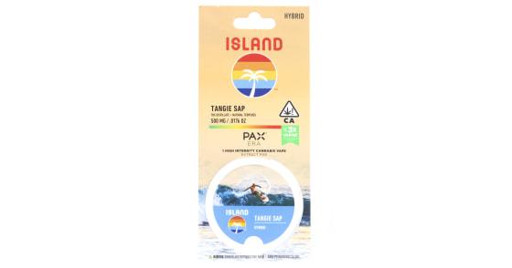 Island - Tangie Sap Pax Pod - 0.5g