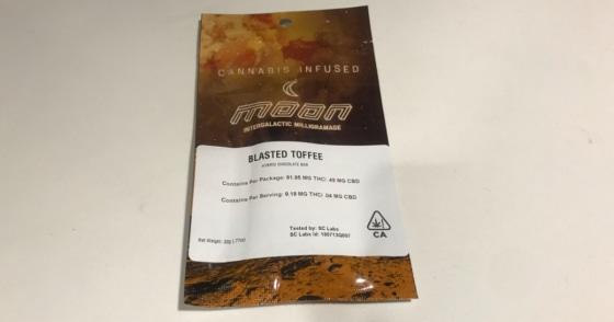 Moon - Blasted Toffee - 100mg