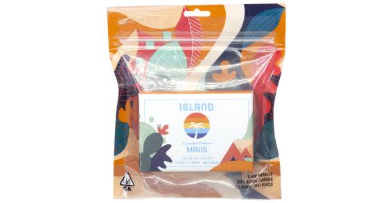 Island Mini's - Strawberry Banana Pre-Roll Pack - 5ct
