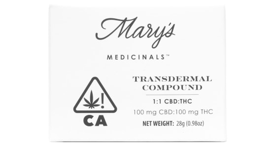 Mary's Medicinals - 1:1 Transdermal Compound - 200mg