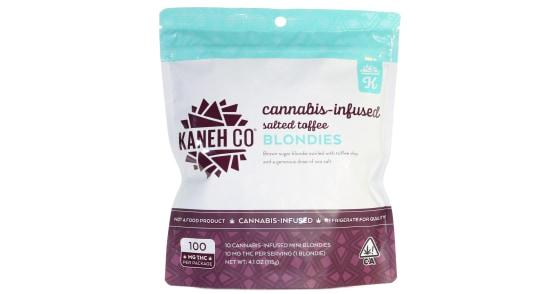 Kaneh Co - Salted Toffee Blondies - 100mg