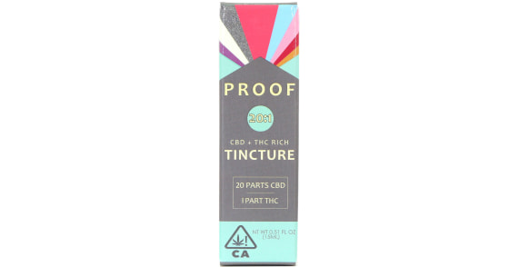 Proof - 20:1 CBD Rich Tincture - 15ml