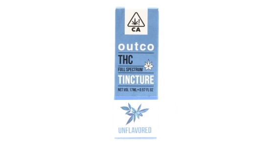 Outco - THC Unflavored Tincture - 17ml