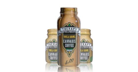 Therapy Tonics & Provisions - Vanilla caramel 1.0 oz - 25 mg