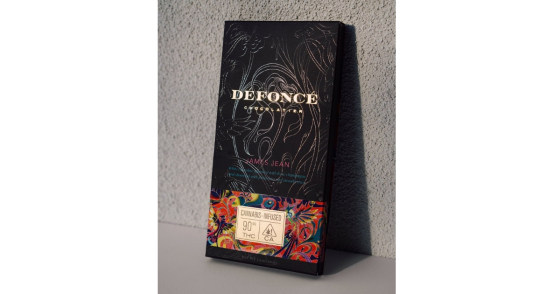 Defonce Chocolatier - Limited Edition James Jean Chocolate Bar - 90mg