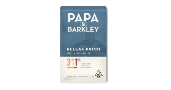 Papa & Barkley - Releaf Patch - CBD Rich 3:1