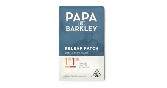 Papa & Barkley - Releaf Patch - 1:1