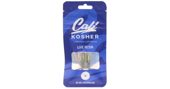 Cali Kosher - Lava Cake Live Resin Cartridge - 1g