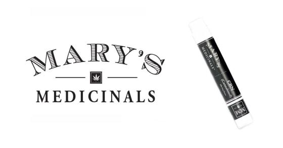 Mary's Medicinals - Transdermal Gel Pen - CBN