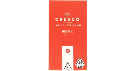 Cresco - Sour Pink Grapefruit Liquid Live Resin Cartridge - 0.5g