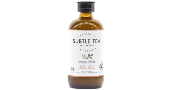 Subtle Tea - 1:1 Jasmine Green Tea - 10mg