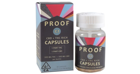 Proof - 1:1 Balanced Capsules - 30ct