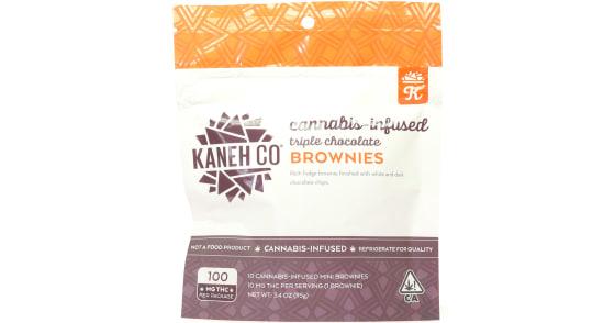 Kaneh Co - Triple Chocolate Brownies - 100mg